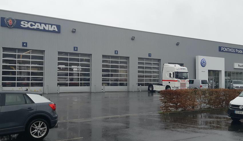 Scania se réorganise dans l'ouest de la France