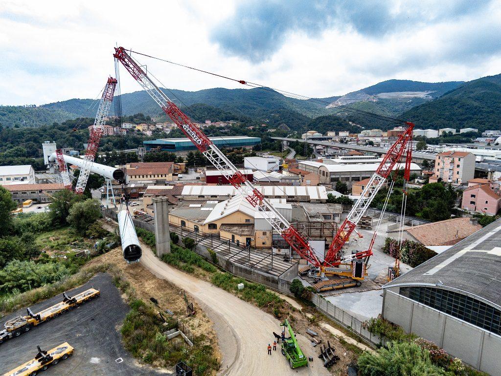 Italie: une CC3800-1 pour démanteler une centrale
