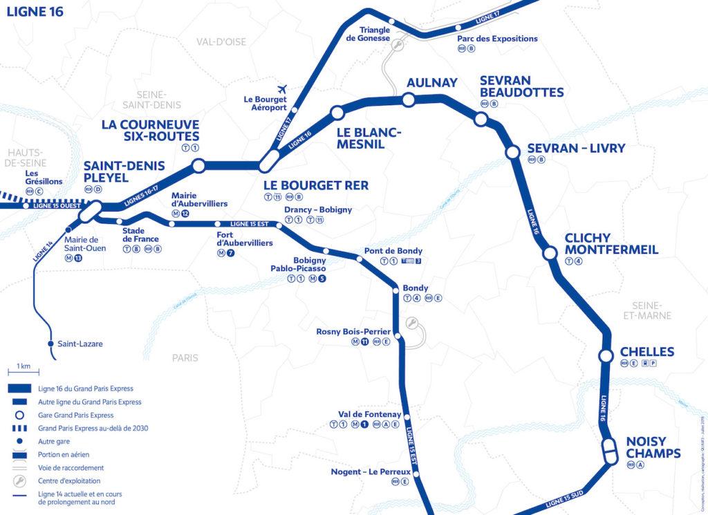 Le dernier marché de génie civil de la ligne 16 du Grand Paris Express remporté par Razel-Bec