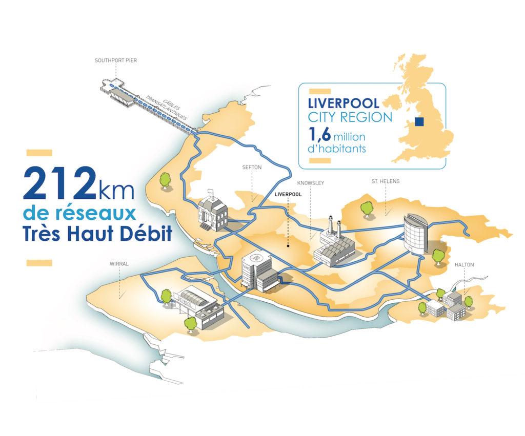 NGE va équiper la région de Liverpool en fibre optique