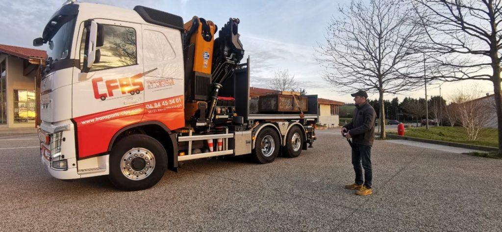 Appydro développe un camion radiocommandé avec Volvo