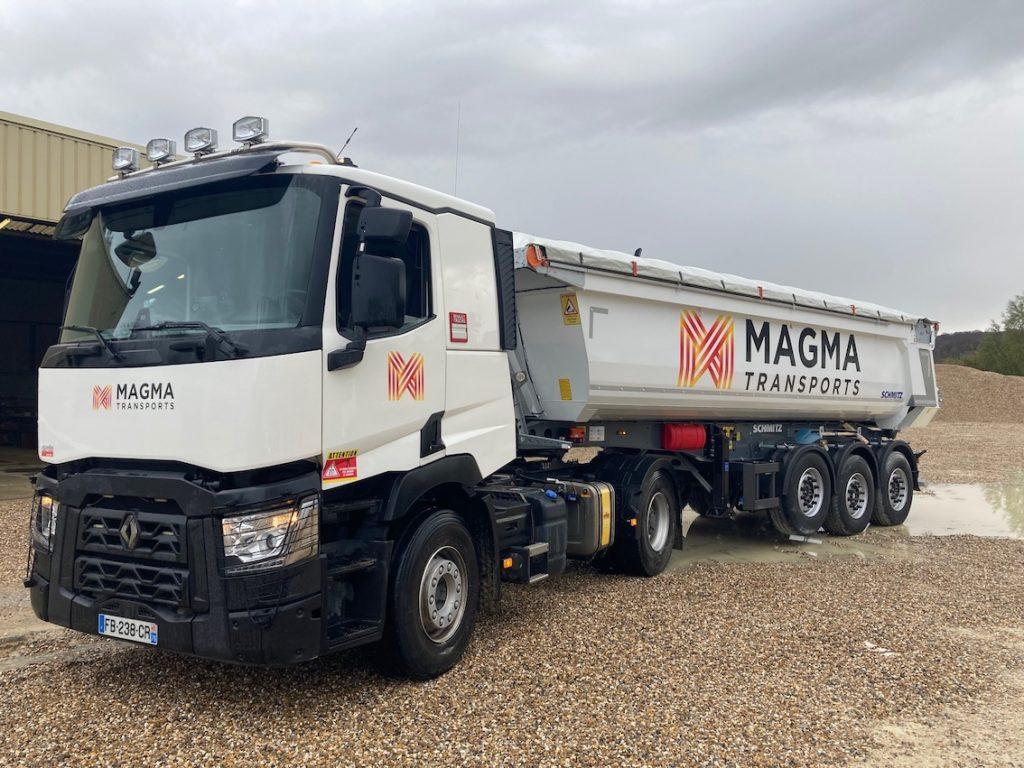 Magma Transportsinvestit sur le carburant végétal pour le transport de matériaux