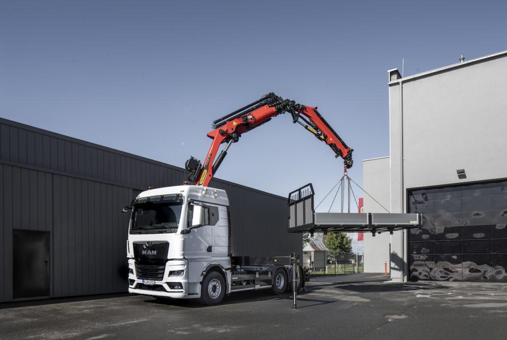 MAN : un nouvel essieu 10 tonnes pour les grues de gros tonnage