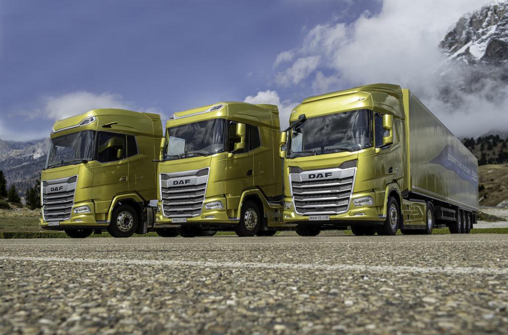 XF, XG et XG+ : les nouveaux camions Daf