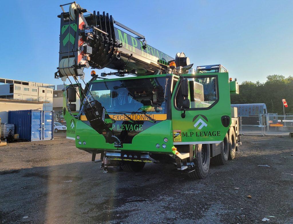 Une nouvelle 60 tonnes pour MP Levage