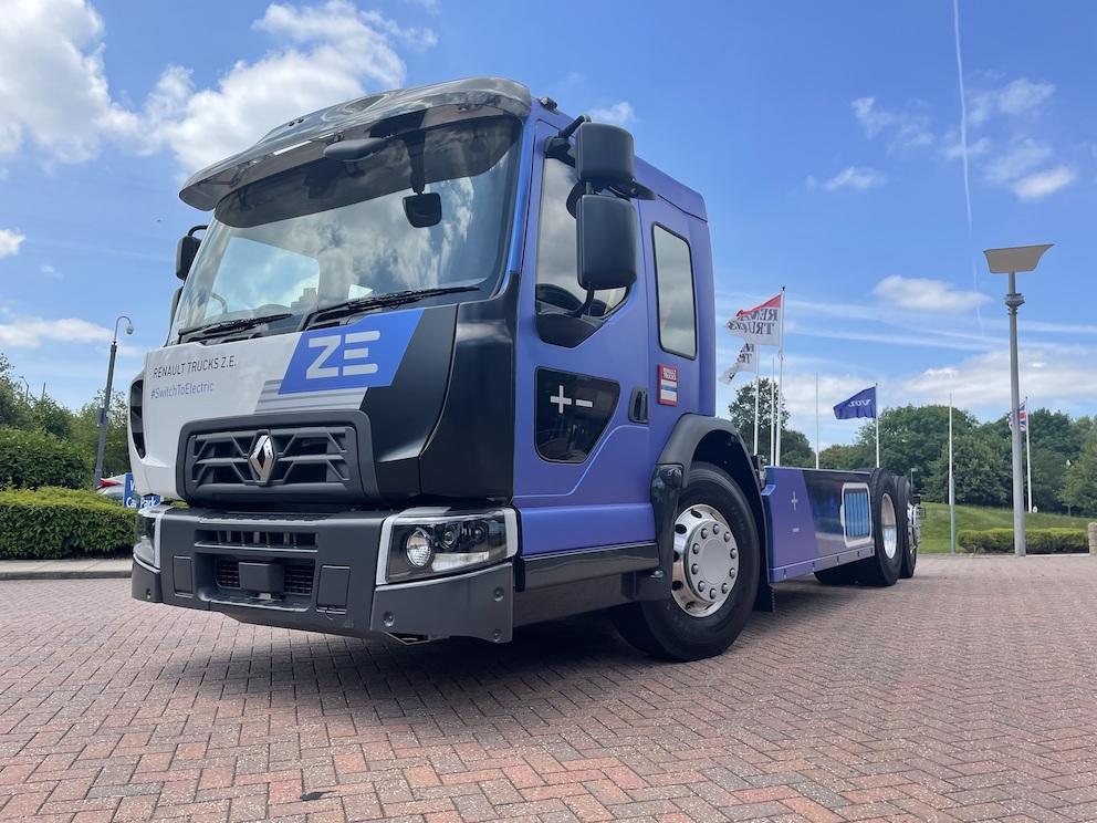 Renault Trucks lance un D Wide électrique avec cabine surbaissée